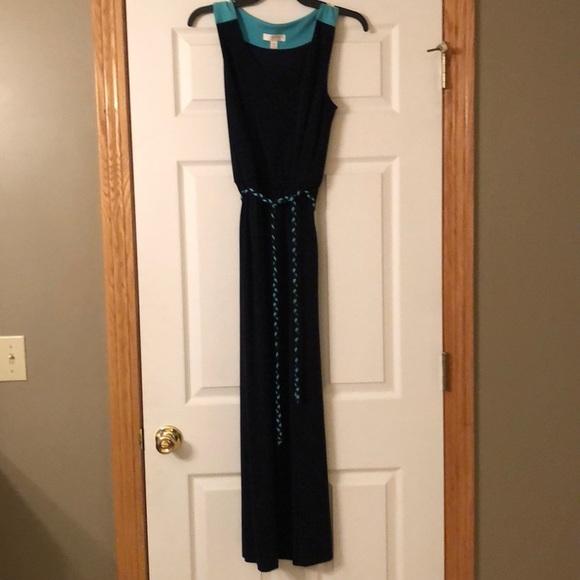 Kenar black maxi dress